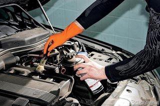 Как самостоятельно помыть двигатель