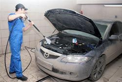Как самостоятельно помыть двигатель авто