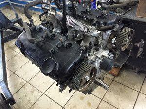 Ремонт двигателя после обрыва ремня ГРМ
