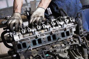 Признаки ремонта двигателя