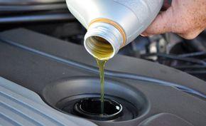 Как заменить масло в двигателе фото