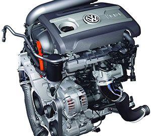 Ремонт двигателя Volkswagen 1.4 TFSI фото