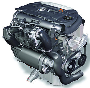 Двигатель VW Golf фото