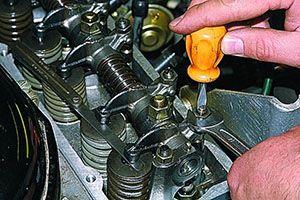 Как отрегулировать клапаны