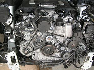 Ремонт двигателя Mercedes ML350