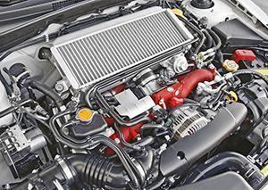 Турбированный двигатель фото