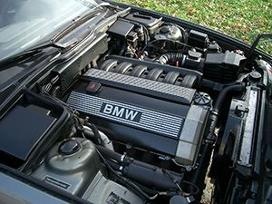 Ремонт двигателя BWM 525