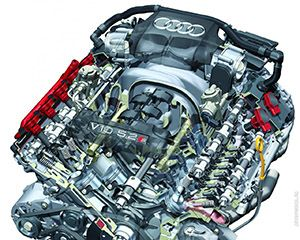 Ремонт двигателя Audi 1.6 TSI фото