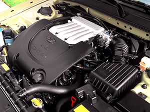 Ремонт двигателя G6BA 2,7 фото
