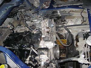 Ремонт двигателя F4BH 2,5