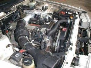 двигатель Toyota 1g gte