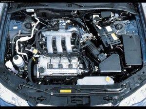 двигатель Mazda kl ze