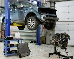 Ремонт двигателя Land Rover tdv6