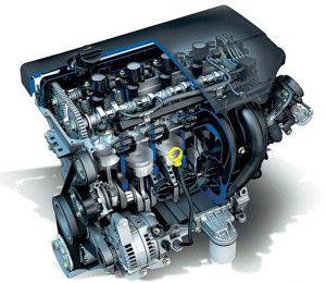 Ремонт двигателя Ford cjbb