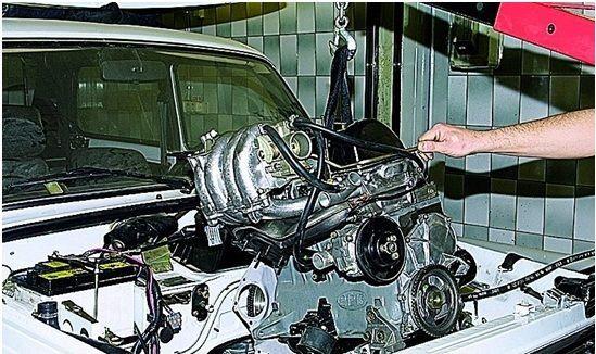 Ремонт двигателей Форд в Москве