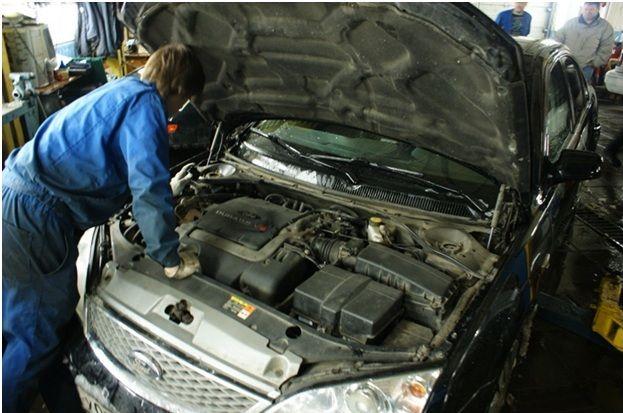 обслуживание двигателя без снятия