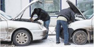 Машина не заводится в холодную погоду