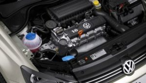 Фото VW Polo на ремонте