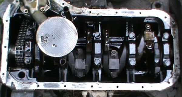 Фото двигателя без крышки