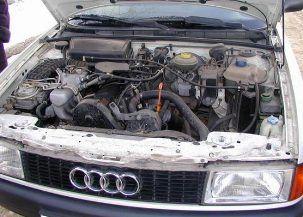 Ремонт двигателя «Ауди 80»