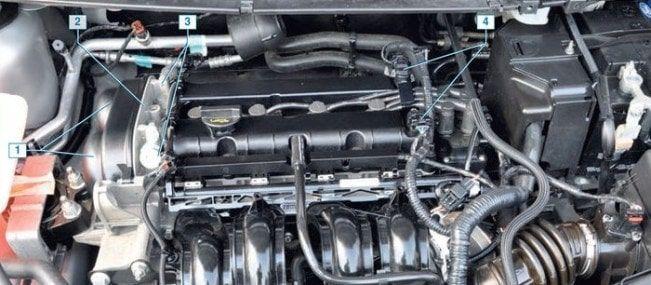 Ремонт двигателя Форд Фокус 2