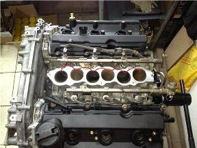 Ремонт двигателя «Infiniti»