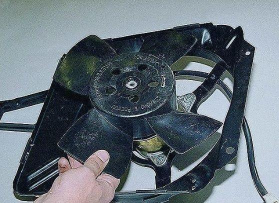 особенность вентилятора двигателя