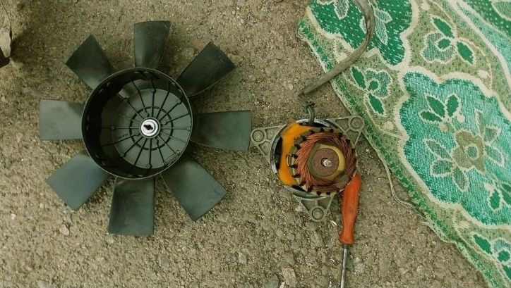 Ремонт вентелятора