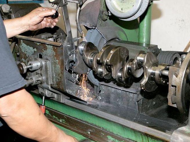 ремонт коленчатого вала