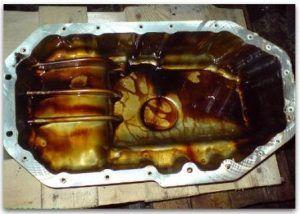 Промывка двигателя при замене масла