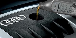 Повышенный расход масла Audi A4
