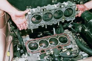 Выполнение ремонта двигателя ВАЗ