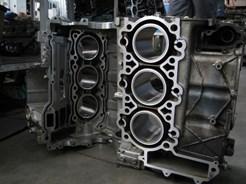 Гильзовка алюминиевого блока цилиндров Audi V6