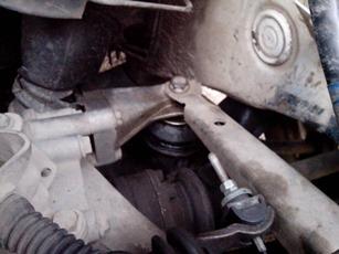 Замена подушки двигателя