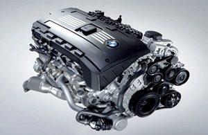 Ремонт бензинового двигателя на BMW